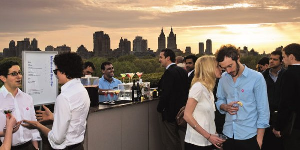 Rooftop Garden Martini Bar
