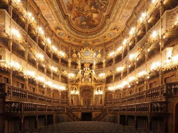 Ópera de los Margraves de Bayreuth (Alemania)