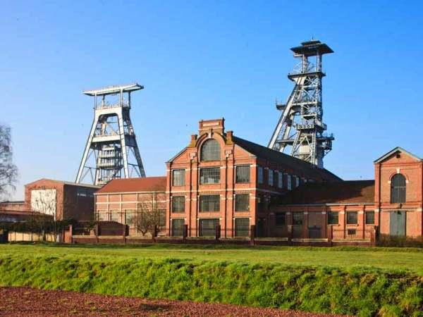 Cuenca minera de la región Nord-Pas de Calais (Francia)
