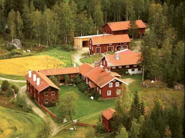 Granjas decoradas de Hälsingland (Suecia)