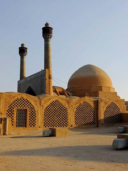 Masjed-e Jāme' de Isfahán (Irán)
